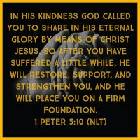 1 Peter 5:10 by designed4jesus