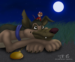 Charlie and Brisby by Fox-under-the-stars