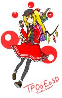 Touhou Project : EoSD Flandre Scarlet by Iormi