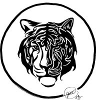 Tribal Tiger for Kendra by JWCC