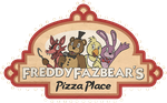 FNAF Freddy Fazbear Pizza Logo shirt design by kaizerin