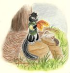 Autumn - Shaddle and Joddle by Porcubird