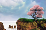 Zbrush Doodle: Day 1311 - Fantasy Bonsai Tree by UnexpectedToy