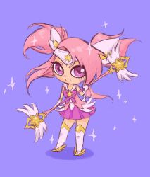 Sketch : Star Guardian Lux by LiliLith