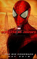 MCU The Spectacular Spider-Man Teaser Poster by Enoch16
