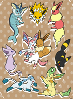 I love Eevee by MamaRocket