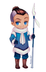 Sokka of the Water Tribe by Nukababe