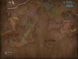 Theln Aged Map by TheGillyGalloo