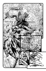 Page 2 issue 1 The Green Lantern by LiamSharp