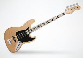 Fender Jazz Bass Guitar by superawesomevectors