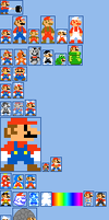 Mario Power-ups by TheLordOfGames