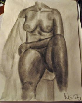 Life Drawing 3 by brittanybeth