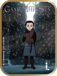 Arya Stark - Game of Thrones. by Ledilustrado
