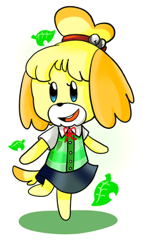 Isabelle by Crashkirby888