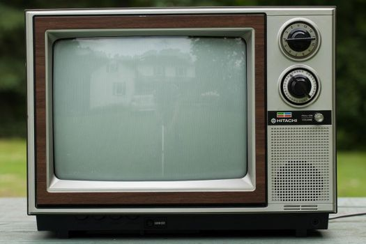 Old TV Set :STOCK: by py