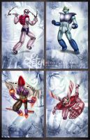Mazinger Z_cards SERIES B by FranciscoETCHART
