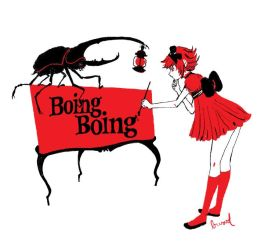 Boing Boing Beetle Tshirt by somefield