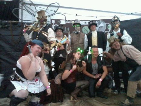 The SteamPunk Objective visits Het Feest by SteamPunk-Creator