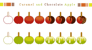 Candy Apple Tutorial by JuicyZone