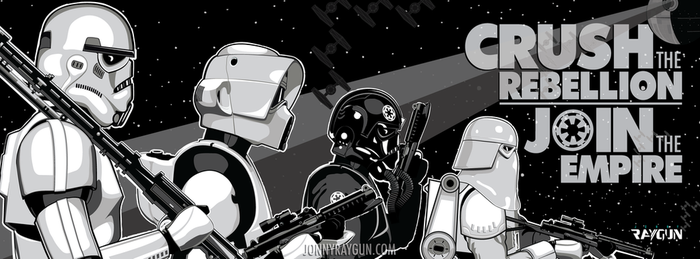 May the Fourth be with You | Crush the Rebellion by Jonny-Raygun