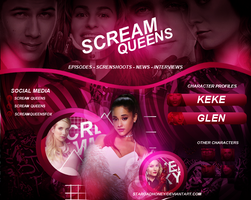 Scream Queens/Elenco by StaRoadHoney