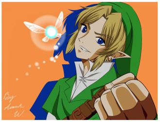 The Boy and His Fairy - TLoZ: Ocarina of Time by ChronicleArtist