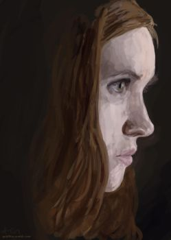 Amy Pond II by Goldfhie