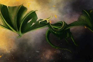 Celtic Dragon by Arzel-Vorster