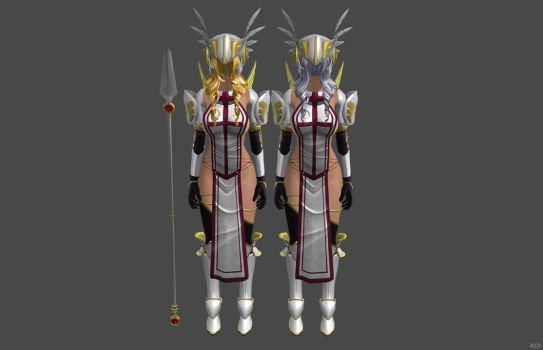 'TES4: Oblivion' Whorish Crusader Armor XPS ONLY!! by lezisell