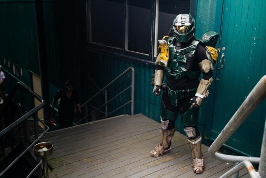 Halo Wars 2 Leon 011 cosplay by 2PlayerCreations