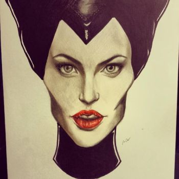 Maleficent by mazziiCHUA
