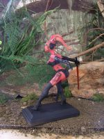 custom Darth Talon statue by spectrestudios
