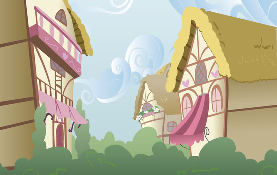 Ponyville Houses by WetPaintProductions