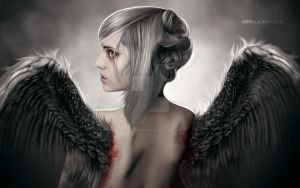 Tears of an Angel III by MirellaSantana