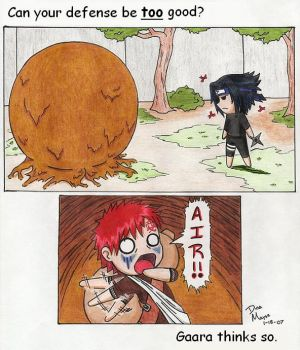 Gaara's Defense by The-Hikari-Within