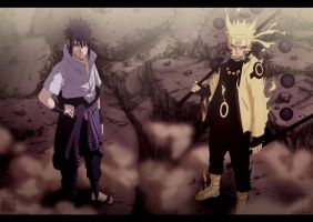Ready to fight - Naruto CH673 by aConst