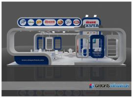 Ulker FoodProduct Exhibition Stand 3D by GriofisMimarlik
