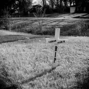Roadside Memorials: Headley Hill Rd, 1 by aymiah