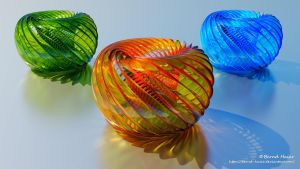 Animation Ring transform to sculpture final by Bernd-Haier