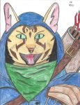 M'Jirr - Tabaxi Ranger by mythicalpizza