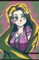 Tangled - Rapunzel by MightyLeafy