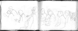people at church by mariane