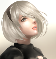 Nier: Automata by Midomine