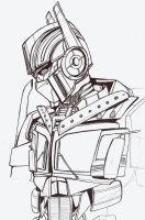 another quick Prime sketch by ravage-eject