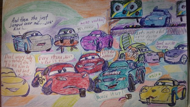 DrUnk CaRs by TanyaLis