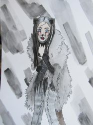 Grizabella from CATS by onehellofauser