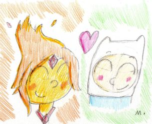 Flame And Finn by ptitemouette