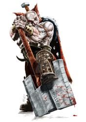 Male Dwarf Barbarian by fragworks