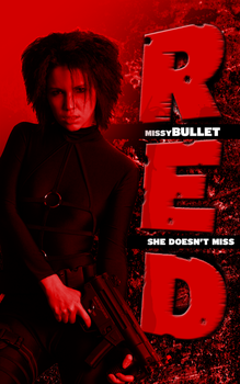 RED Poster by kingjs