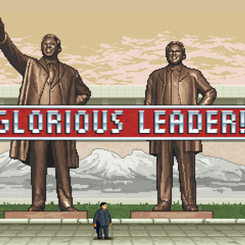 GloriousLeader!01 by Moneyhorse